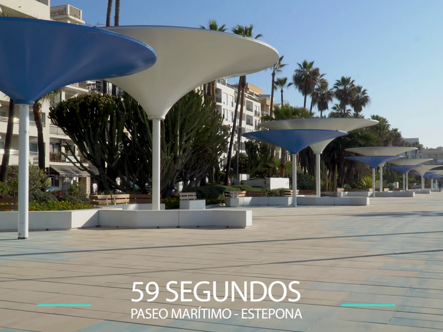 59 Segundos – Nuevo paseo marítimo de Estepona.