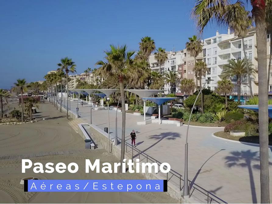 Nuevo paseo marítimo de Estepona.