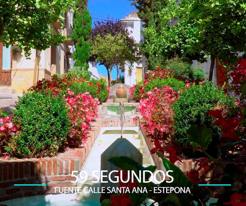 59 Segundos – Fuente calle Santa Ana, Estepona.