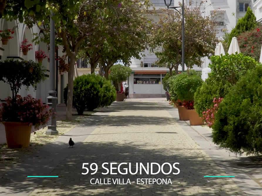 59 Segundos – Calle Villa en Estepona.