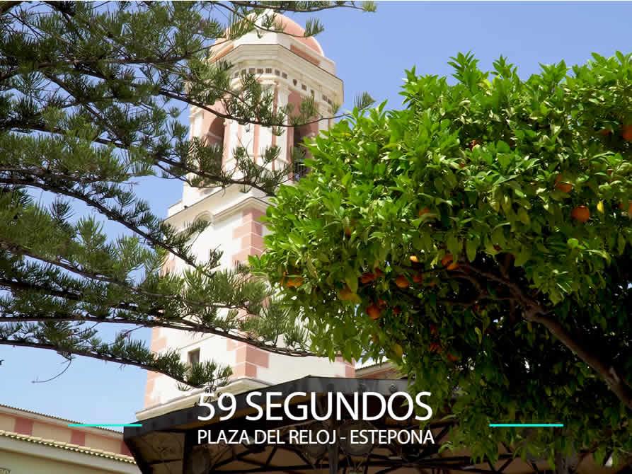59 Segundos – Plaza del reloj en Estepona.