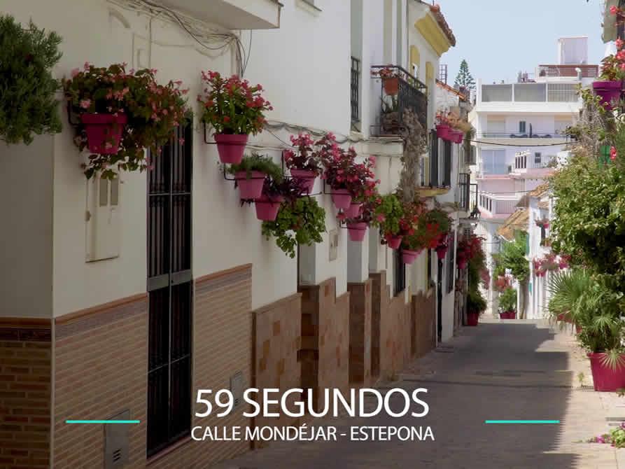 59 Segundos – Calle Mondéjar en Estepona.