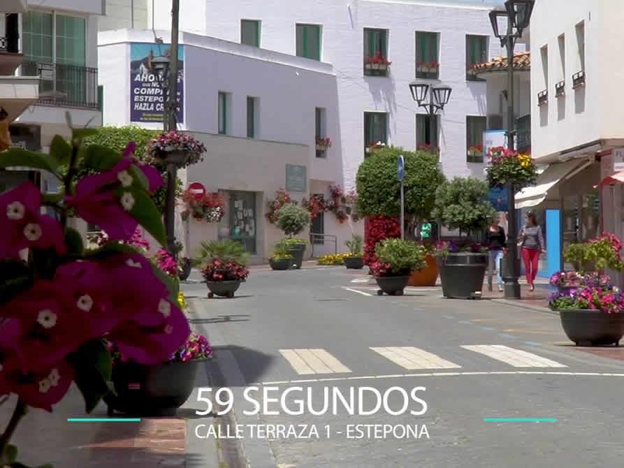 59 Segundos – Calle Terraza 1 en Estepona.