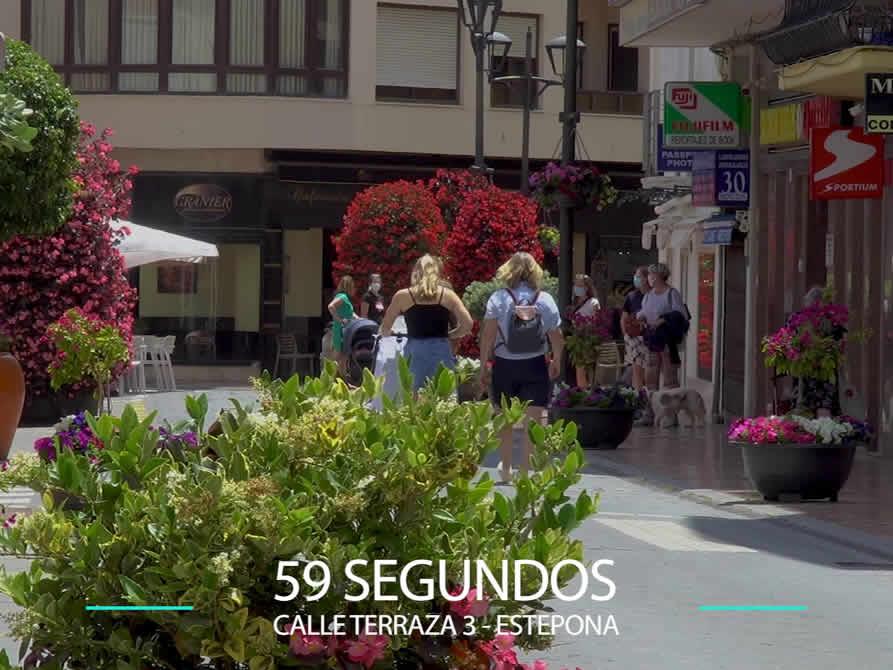 59 Segundos – Calle Terraza 3 en Estepona.