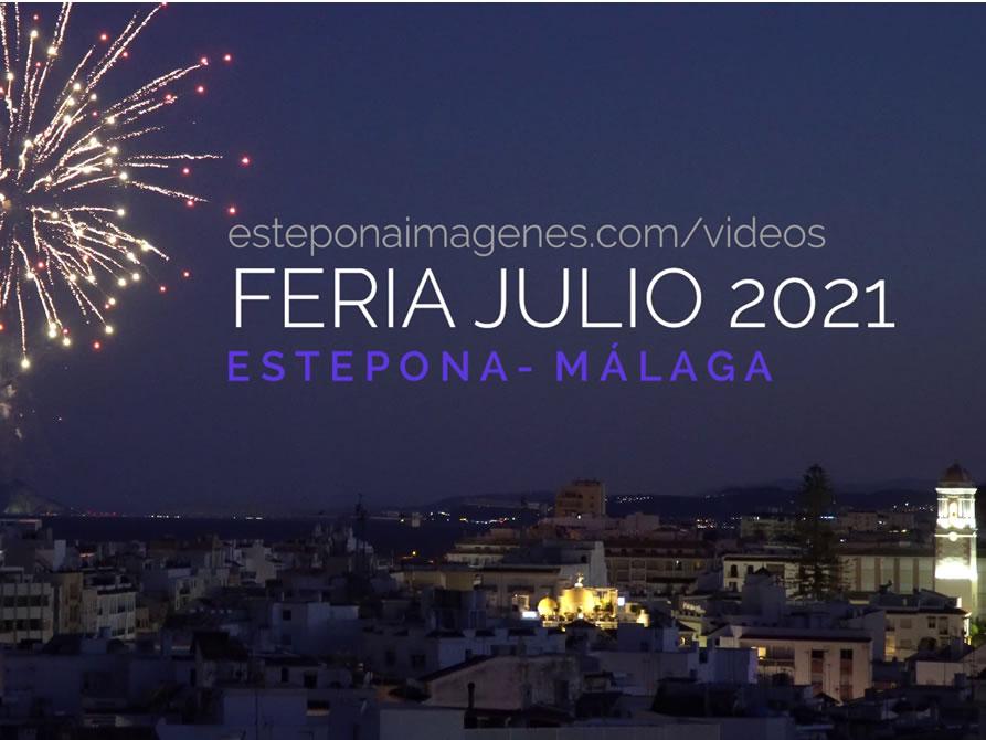 Feria de Estepona 2021 – Fuegos artificiales